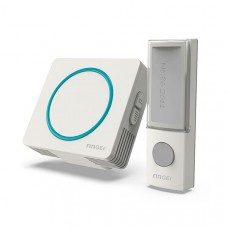 Wireless doorbell with male plug